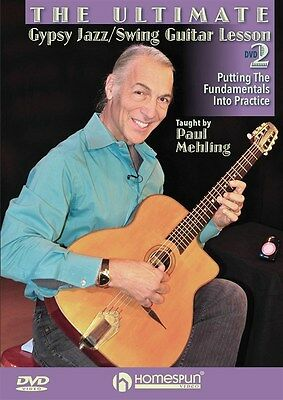 The Ultimate Gypsy Jazz/Swing Guitar Lesson: DVD 2 - P... Gitarre DVD (Region 0)