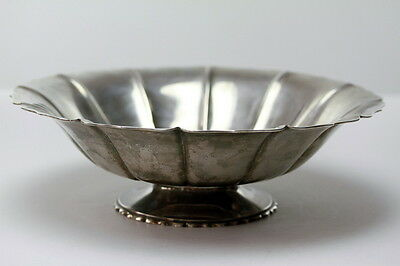 Antique Sterling Silver Arts and Crafts Bowl by  Richard Dimes
