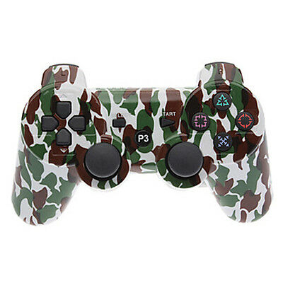 Camouflage Wireless Controller for PlayStation PS3 Dualshock V4.0 Bluetooth