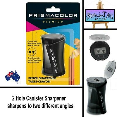 Prismacolor Premier NEW Duo Canister Pencil Sharpener for Narrow & Wide Points