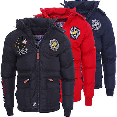 Geographical Norway warme gefütterte Herren Cincin Winterjacke Jacke S-XXL