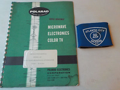 Polarad Model Sij Broad Band Microwave Attenuator Instruction Manual