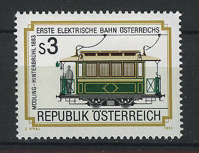 AUSTRIA 1983 MNH SC.1258 Electric Railroad