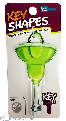 MARGARITA GLASS - Collectable Novelty Front Door House Key, Party Alchol