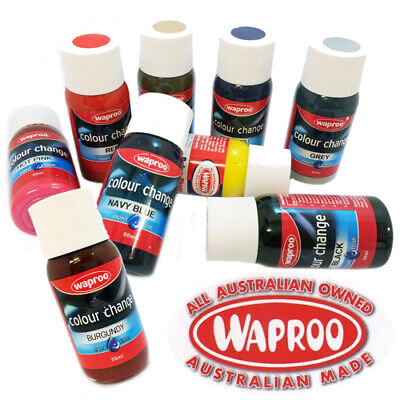 Waproo Shoe Paint + Included Brush Colour Change for Leather Synthetic