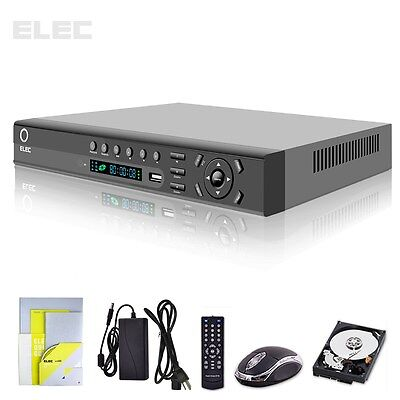 ELEC® 8 CH Channel CCTV 960H Full D1 HDMI 2TB For Home Video Security DVR System