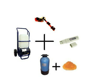Complete Water Fed Window Cleaning System Set - Ready to use