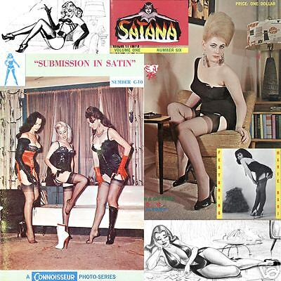 SATANA 6 Selbee Corsets High Heels Nylons Submission in Satin C-10 e-books on CD