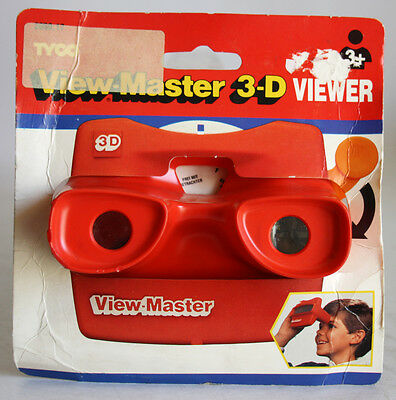 Ultra Rare Original Tyco 1990 View Master 3D Viewer Vintage New Sealed !