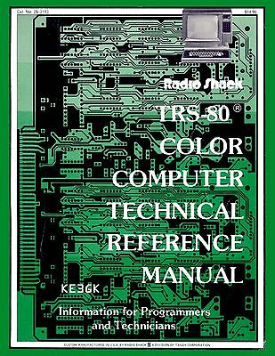 TRS-80 Technical Reference Manual * PDF * CDROM