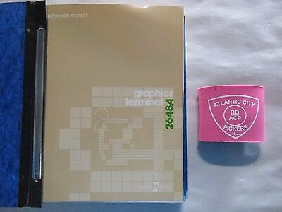 Hewlett Packard 2648A Graphics Terminal Reference Manual 02648-90002