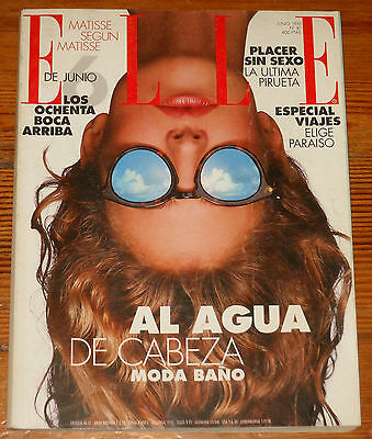 ELLE #81 Junio 1993 spanish magazine Beverly Peele Sophie Marceau fashion mag