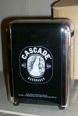 NEW Cascade Beverages Beer Softdrink Napkin Holder Dispenser