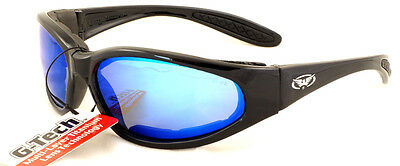 New Shatterproof /Unbreakable G-Tech Motorcycle Sunglasses/Biker Glasses + Pouch