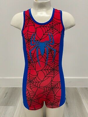 SPIDER BOY  gymnastics leotards from Arisbeth's Leotards