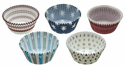 Kitchen Craft Sweetly Does It Pack of 250 Assorted Coloured Cupcake Cases - A/W