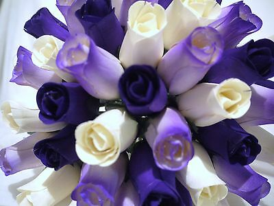 Mothers Day Cadburys Purple Cream Wholesale Stock Clearance Wooden Roses Job Lot