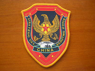 87's series China PLA Army Unmanned Aerial Vehicles Scouting Force Patch