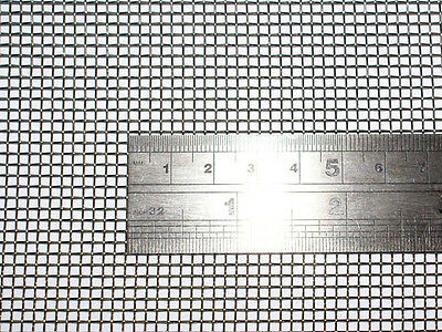 """Woven Wire 10 Mesh (24""""X 24"""") 60cm X60cm x2mm Coarse,gauze Stainless Steel 304L"""