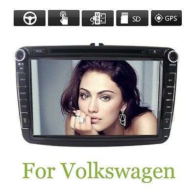 """Crazy Promotion 8"""" VW Volkswagen DVD GPS Car Stereo Radio Audio Player+ Map"""