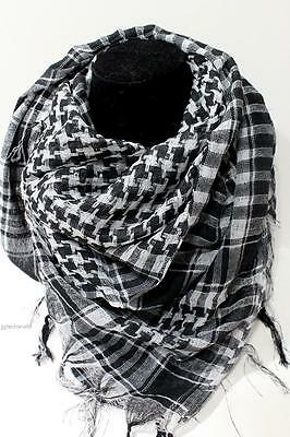 Women Men Fashion Arab Shemagh Keffiyeh Palestine Scarf Shawl Kafiya Wrap Color