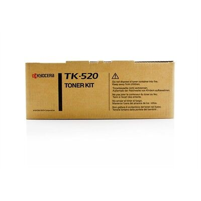 Kyocera Cartridge TK-520Y Genuine Yellow Toner FSC-5020N / FSC-5025N / FSC-5030N