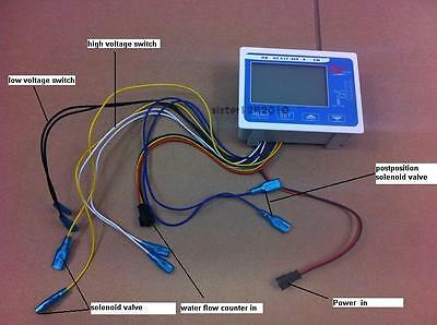 New DC24V Water Flow Control LCD Meter