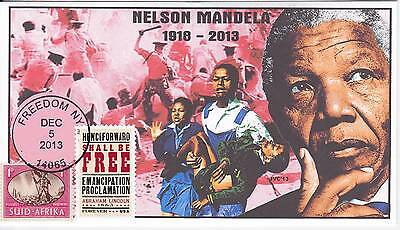 Jvc Cachets -  2013 Nelson Mandela Mourning/event Fdc Topical S. Africa Cover #2