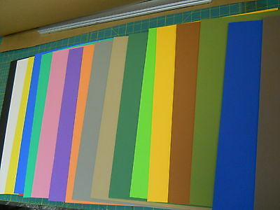 """4pcs 3mm Sticky Back 1 side adhesive foam sheets 12""""x18"""" - choose your colors"""