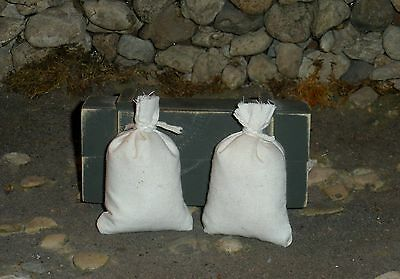 """1:6 scale German /""""Carrots//Corn/"""" food supply sacks for Field Kitchen"""
