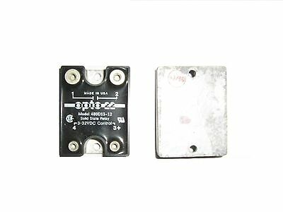 Opto 22 - 480D15 - 12  Ssr Relay Solid State Dc 25A 480Vac Rele' Stato Solido