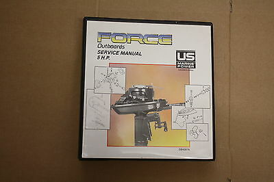 FORCE OUTBOARD 5 hp SERVICE MANUAL