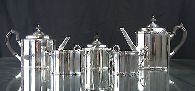 Vintage Antique Gorham Sterling Silver Tea And Coffee Set 5 Pcs