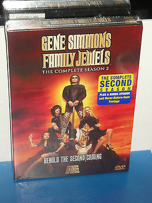 Gene Simmons Family Jewels - The Complete Season 2 (DVD) 3-Disc Set! BRAND NEW!