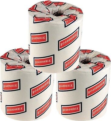 "192 Rolls White Boardwalk BWK6180 6180 Bath -Toilet Tissue,2-Ply,4.5""L x 3""Width"