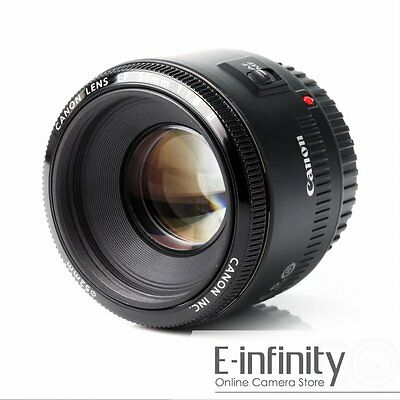 SALE BRAND NEW Canon EF 50mm f/1.8 II Standard Fixed Focus Lens for EOS DSLR