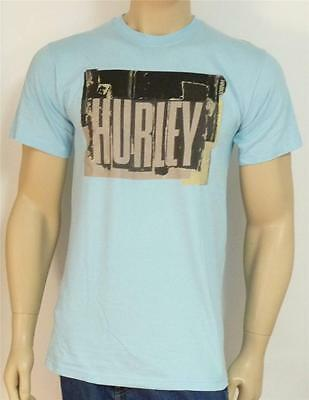 Hurley Lighthouse Graphic Tee Shirt Mens Royal Blue Classic Fit T-Shirt New NWT