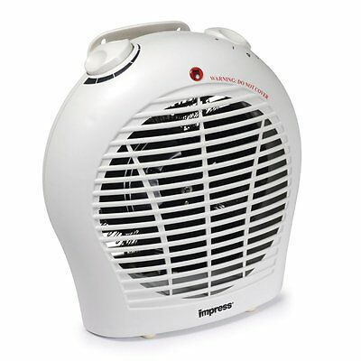 Impress 1500-watt Space Heater with a Quiet Fan and Adjustable Thermostat, New