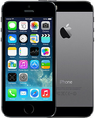 Apple iPhone 5s 16GB Smartphone - Brand New / Unlocked - Space Grey