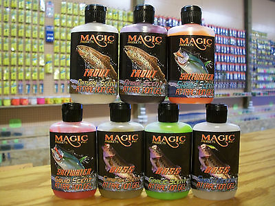 Magic Faststrike Gel,Fish Attractant,Fishing Scents,Trout,Bass,Walleye,Saltwater
