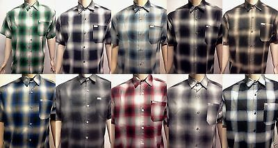 Pendelton Old School Flannel Veterano Shortsleeve Shirt Plaid Sm-5X Gangster