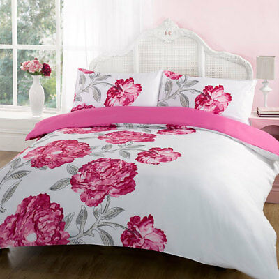 Georgia Duvet Cover with Pillow Case Bedding Set Single Double King All Size