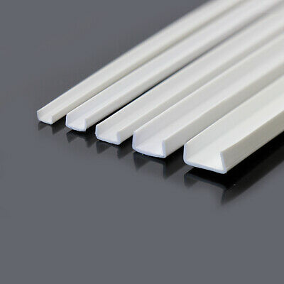 ABS15 35 x Styrene ABS CHANNELS 500mm Lengths NEW