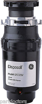 NEW GE Disposall 1/3 HP Continuous Feed Food Waste Disposer Disposal GFC325V