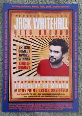 JACK WHITEHALL UK Gets AroundTour/Concert Flyer Stand Up Comedy Bad Education