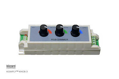 Blizzard Lighting Komply Knob 3 RGB Dimmer Controller Color Mixing