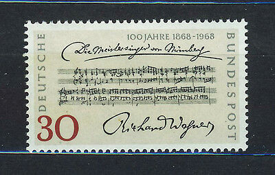 ALEMANIA/RFA WEST GERMANY 1968 MNH SC.987 Performance of Richard Wagner