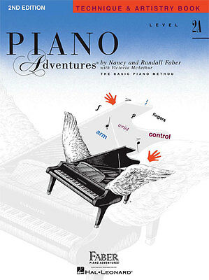 Faber Piano Adventures® Level 2A – Technique & Artistry Book – 2nd Edition