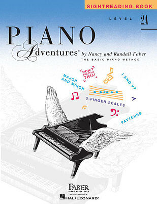 Faber Piano Adventures® Level 2A – Sightreading Book