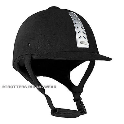 Horze Halo Horse Riding Hat/Helmet Black - All Sizes in stock